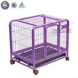 Elegentpet Large Folding Metal Mesh Dog Cage For Sale Cheap