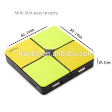 Innovative design 5v li polymer battery bank for HTC, Samsung, iPhone