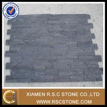 Natural cultural stone, black slate