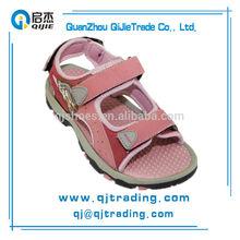 Fashion flat heel kids leather sandals kids