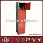metal locker shelves and 5 door steel lockers for changing room