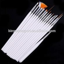 BIN professional 15 pcs nail art painting pen brush set
