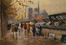 impressionist paris street oil paintings