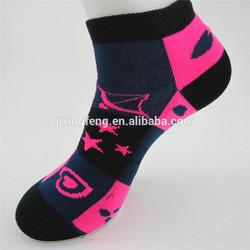 jacquard antifungal and antiodour women socks