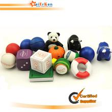 Customize bulk basketball stress ball with stand