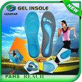 Ly-stco13 alivio del pie de absorción de choque contra la fatiga cómodo apartamento pies plantillas