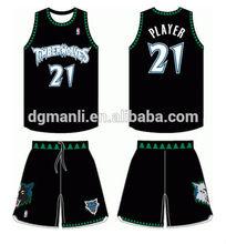 custom made pro dye sublimation jersey basketball design