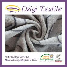 printed polar fleece fabric for bed sheet