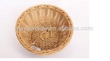 hotsale plastic rattan basketplastic food basket fruit vegetable washing plastic basket