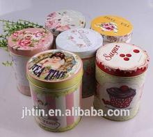 alibaba express round coffee powder box manufacturer/tin box