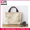 2014 high quality natural jute wholesale tote bags , stylish printable jute bag tote , jute burlap gift bags