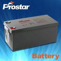 Sealed Maintenance Free UPS Gel Batteries For Solar Panel 12V 200AH