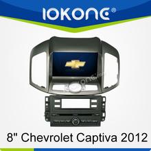 "2012 factory 8"" HD Touch screen chevrolet captiva 2012 cd radio dvd player with TMC, camera, mic, dvb-t"