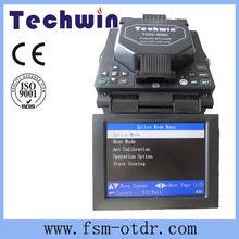 Portuguese/Spanish/French/English Menu China Telecom TCW-605C Fiber Optic Fusion Splicer