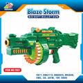 Zc de fábrica!!! Electrónico de plástico abs de pellets airsoft rifle de francotirador de la pistola nerf venta al por mayor con balas de nerf shatou chenghai