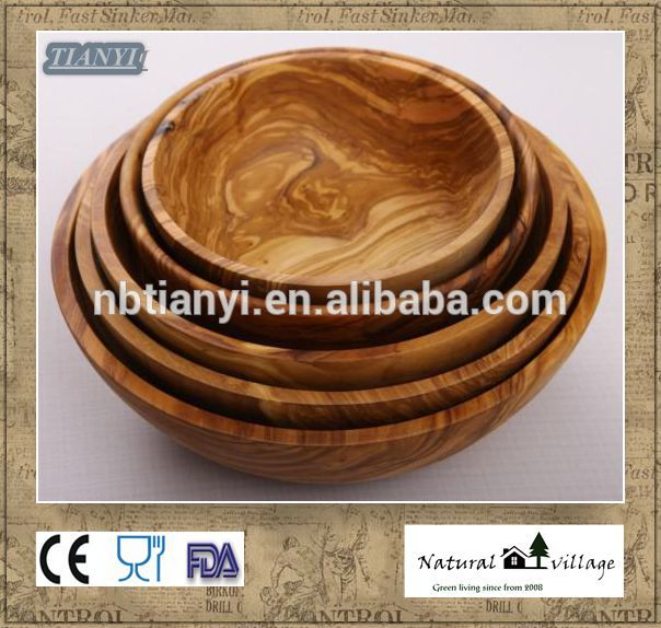 Olive Wood Salad Bowl Olive Wood Handcrafted Salad