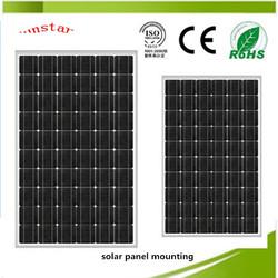 LED solar panel solar powered light