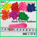 الرياضات المائية نفخ بالون المياه قنبلة ألعاب البالون 5 بوصة 0.24gr/pc 100pc/ حزمة