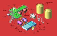 Essential oil distillation machine with patent taking negative pressure technology