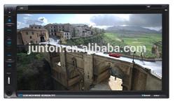 KJT6965A 6.95 inch car dvd navigation system 800*480RGB,Bluetooth,GPS,DVD,MP4