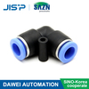 Sino-Korea Cooperate factory PV Air Quick Coupler Connector Plastic fitting