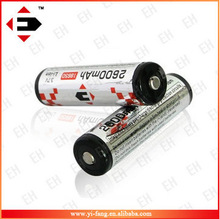 Newest EFAN 18650 2600MAH with PCB rechargeable li-ion battery for higher power
