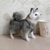 wholesale lifelike realistic no stuffing plush animated german shepherds puppies