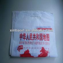 HDPE OR LDPE Die-Cut Printed Plastic Retail Shopping Bags