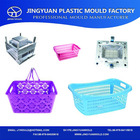 2014 China new design of plastic picnic storage basket injection mold/picnic basket with handle mould manufacturing