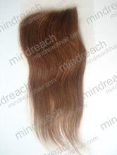 CHINA MR HAIR ! 2014 fashion 30# nature wave brazilian hair lace closure piece