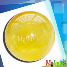 2014 Hot Sale Children Hollow Rubber Custom Bouncing Ball Hollow Plastic Balls