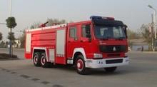 SINOTRUK HOWO fire fighting truck 6X4