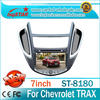 High quality multimedia Car audio for Chevrolet TRAX with DVD radio gps RDS ipod bluetooth ATV 3G V-CDC full functions
