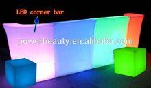 de barras portátil con ruedas barra de bar contador de plástico bar