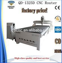 wood puzzles cnc router machine /cnc router for wooden processing QD-1325D