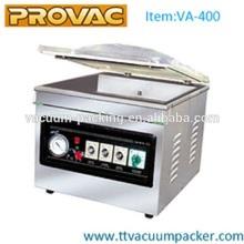 Vacuum packaging machine meat