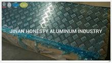 Five Bar Embossed Aluminum Thread Plate 3003 h14