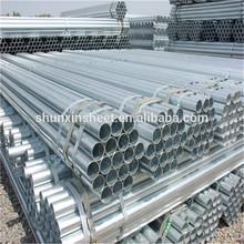 Pre-gal round steel tubes for steel building
