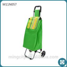 High Popular Retro Green Bag, Shopping Trolley Bag, Trolley Bowling Bag