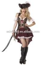 Plus Size Sexy Women's Pirate Costume Fancy Dress Costumes QAWC-2018