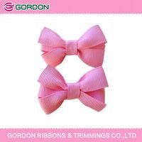 2014 hot sale novel ribbon hair clip/crafts hair clips/princess hair bow
