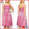Floral print wholesale plus size women clothing/xxxxl women plus size clothing/over size high waist vintage dress