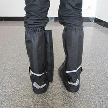 Asia China Manufacturer Anti Slip Motorcycle Waterproof Windproof Rain Boot Shoe Covers - w/Reflector