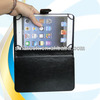 Customized factory price for ipad air 360 rotating stand leather case cover with bluetooth keyboard