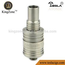 Superior new design atomic RDA atomizer / kingzone tech atomic vaporizer /Tesla atomic RDA