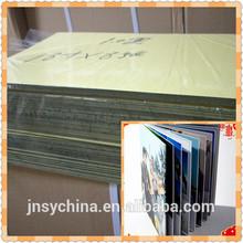 hard pvc inner sheet/photo book inner page