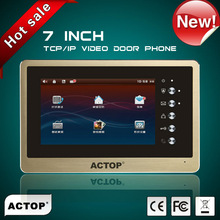 wholesaler full digital 7 inch touch screen best peephole home automation gateway