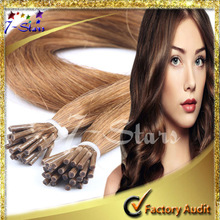 Direct Factory Popular Peruvian I tip Hair On Sale I-Tip Hair Extension Big Sale.pre-bonded I tip hair