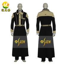 2014 mais novo d. Gray Man geral cruz Marian Order Cosplay dos homens halloween roupas de festa em promoção