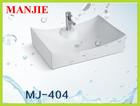 item-404 china wash basin bathroom product wash hand ceramic sink
